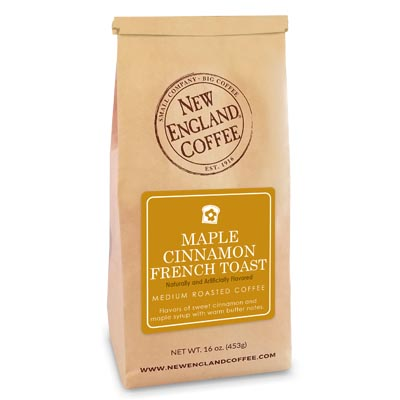 Bag of Maple Cinnamon French Toast Flavored Coffee