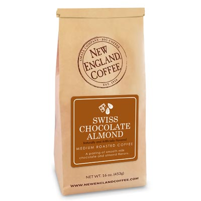 Bag of Swiss Chocolate Almond Flavored Coffee