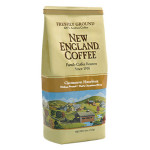 Packaging image for New England Coffee's Cinnamon Hazelnut flavored coffee