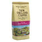 Packaging image for New England Coffee's Donut Shop Blend flavored coffee
