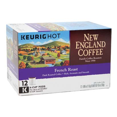 Box of Single Serve French Roast Coffee