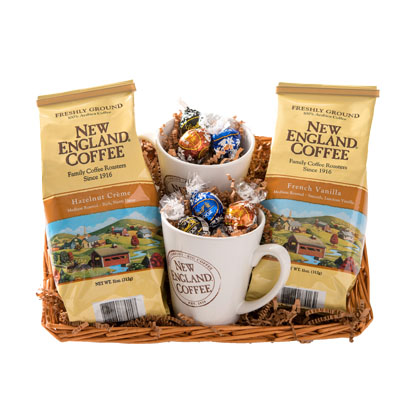 New England Coffee basket